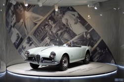 Giulietta Spider Prototipo accompanies you while you watch her on the big screen.