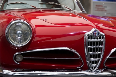 Only 599 pieces of this Alfa 1900 Super Sprint were made!