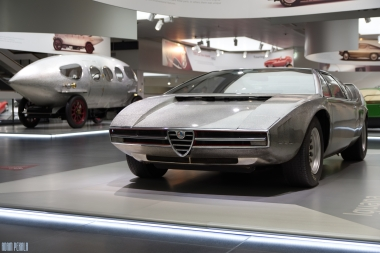 Alfa Iguana, which was later an inspiration for DMC DeLorean.