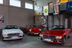"""Wnętrze ma swój """"garażowy"""" klimat dzięki odpowiednio dobranym dodatkom."""