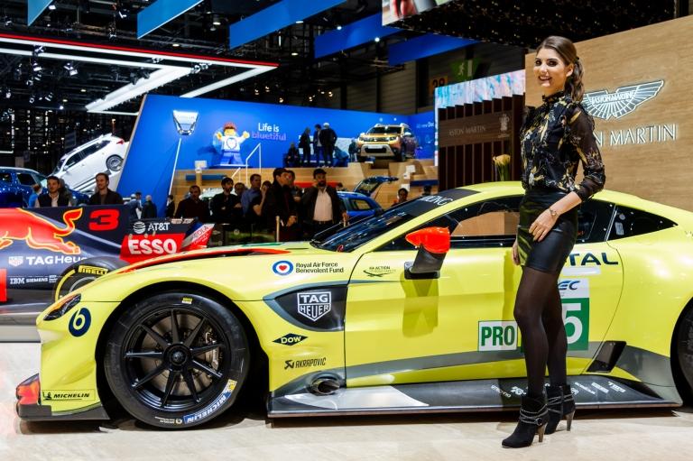 Aston Martin at GIMS 2018 (2)